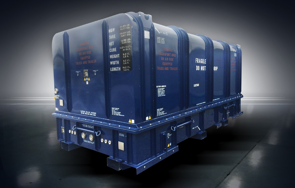 LM2500 Universal Shipping Container