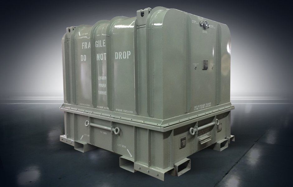 LM6000 Shipping Container