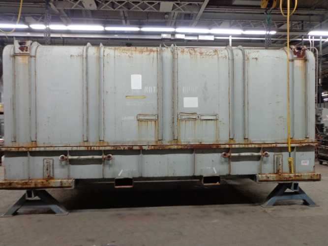 LM600 Container Before Refurbishment