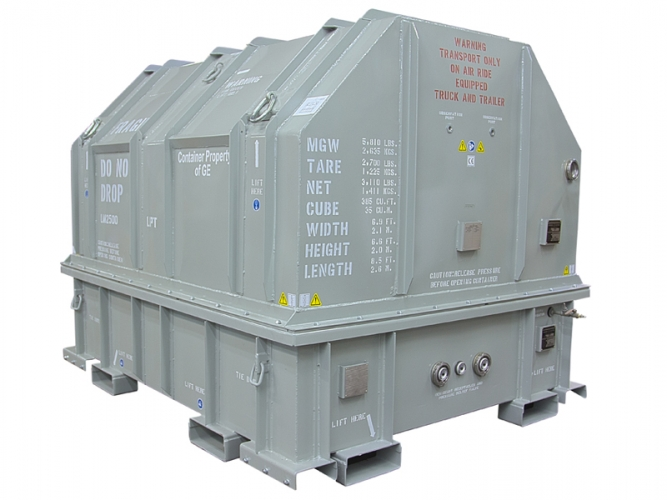 LM2500 LPTM Gas Turbine Shipping Container