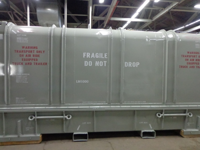 LM6000 Container After Being Refurbished