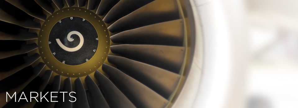 Front View of Turbine Engine